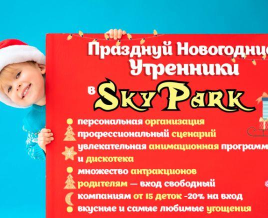Новогодние Утренники в SKY PARK
