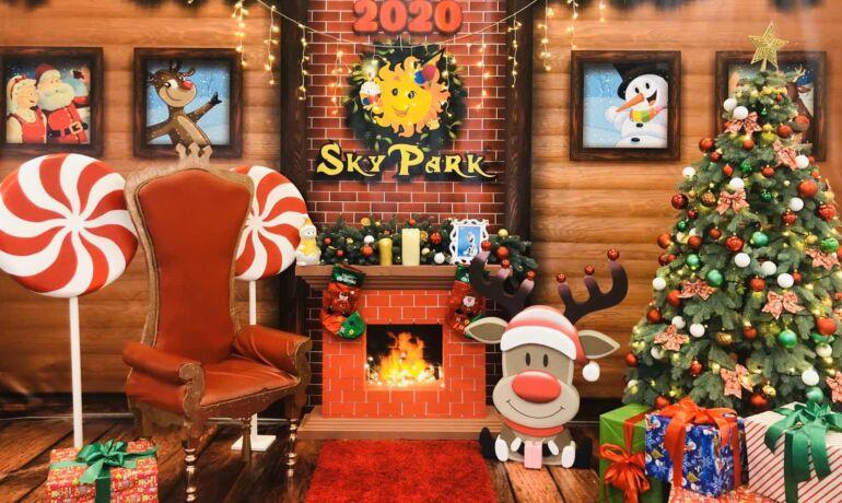Новогодний сезон в SKY PARK открыт!